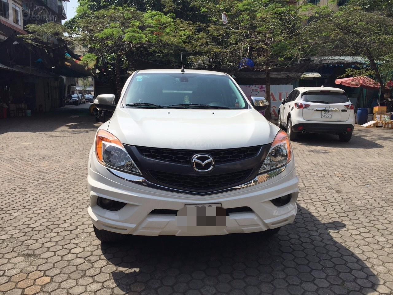 Bán Mazda BT 50 sản xuất năm 2015, màu trắng -4