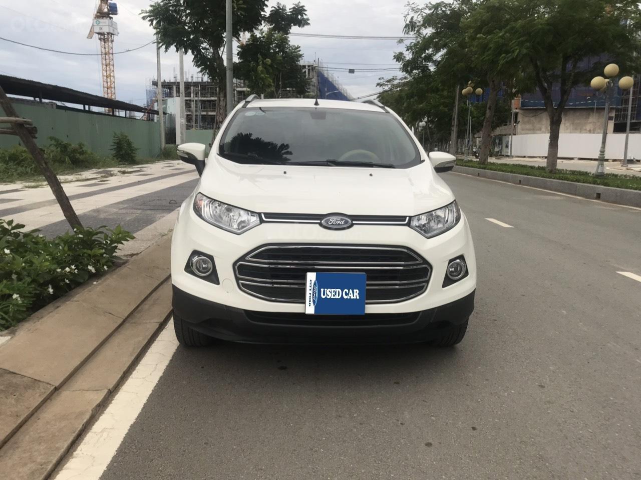 Bán Ford EcoSport Titanium 1.5 2017, màu trắng, trả góp đưa trước 170-200tr (1)