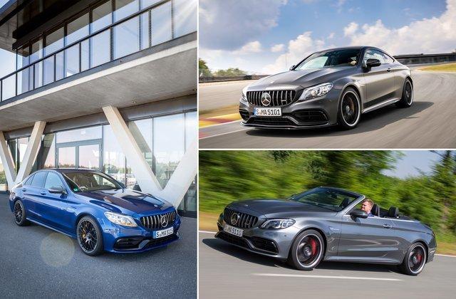 Giá cả và các biến thế Mercedes-AMG C 63.