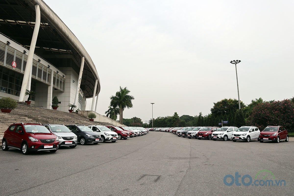Khoản 650 xe VinFast Fadil sẽ được giao cho khách hàng trong ngày đầu tiên.