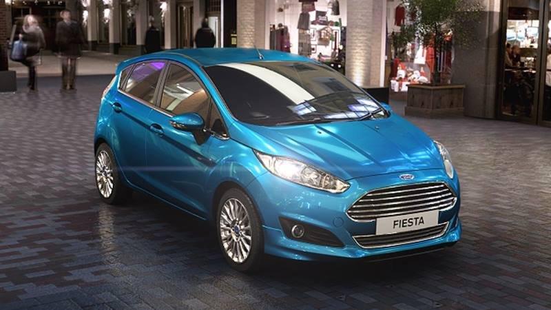 Ngoại thất xe Ford Fiesta 2018 tại Việt Nam...