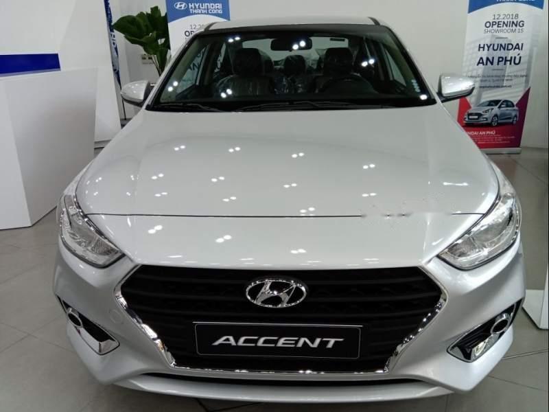 Bán ô tô Hyundai Accent sản xuất năm 2019, màu bạc giá cạnh tranh-1