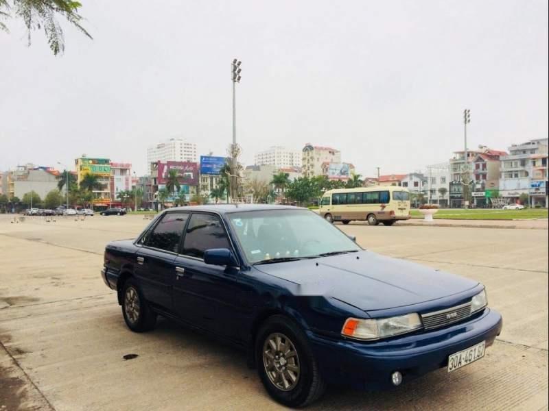 Bán xe Camry đời 1987 nhập khẩu của Nhật Bản nguyên chiếc, màu xanh-0