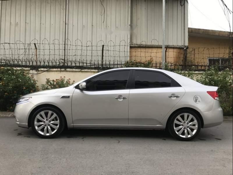 Bán xe Kia Forte Sli năm sản xuất 2010, màu bạc, xe nhập   (3)