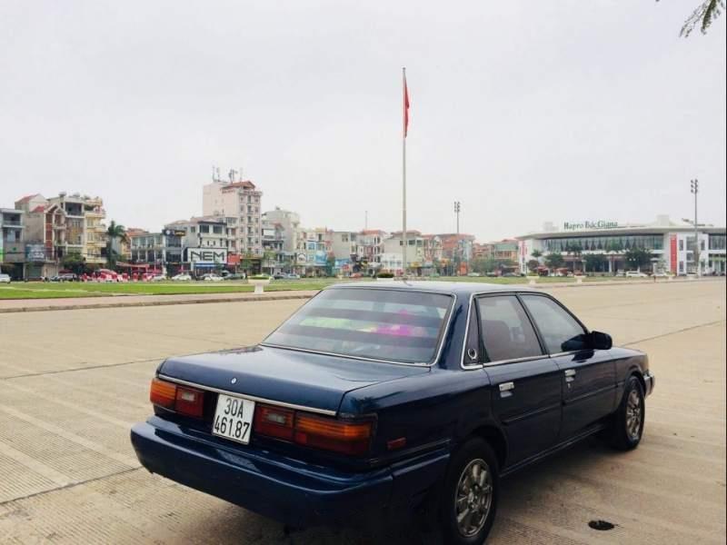 Bán xe Camry đời 1987 nhập khẩu của Nhật Bản nguyên chiếc, màu xanh-3