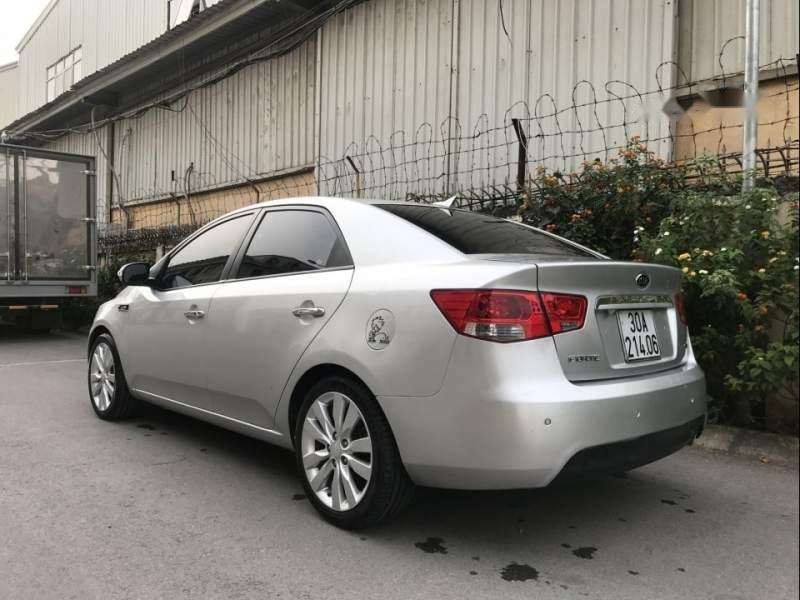 Bán xe Kia Forte Sli năm sản xuất 2010, màu bạc, xe nhập   (2)