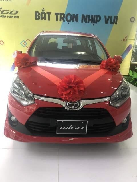 Bán Toyota Wigo 1.2L số tự động 2019 nhập nguyên chiếc-0