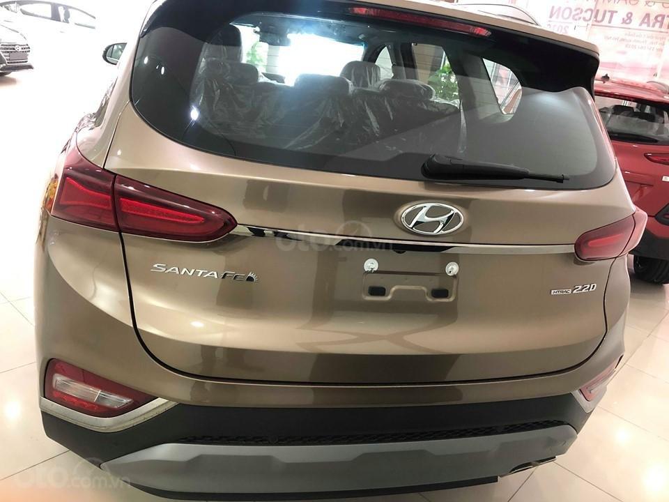 Bán Hyundai Santa Fe 2019 máy dầu, vàng cát, tặng 10triệu - nhiều ưu đãi - LH: 0964898932-4
