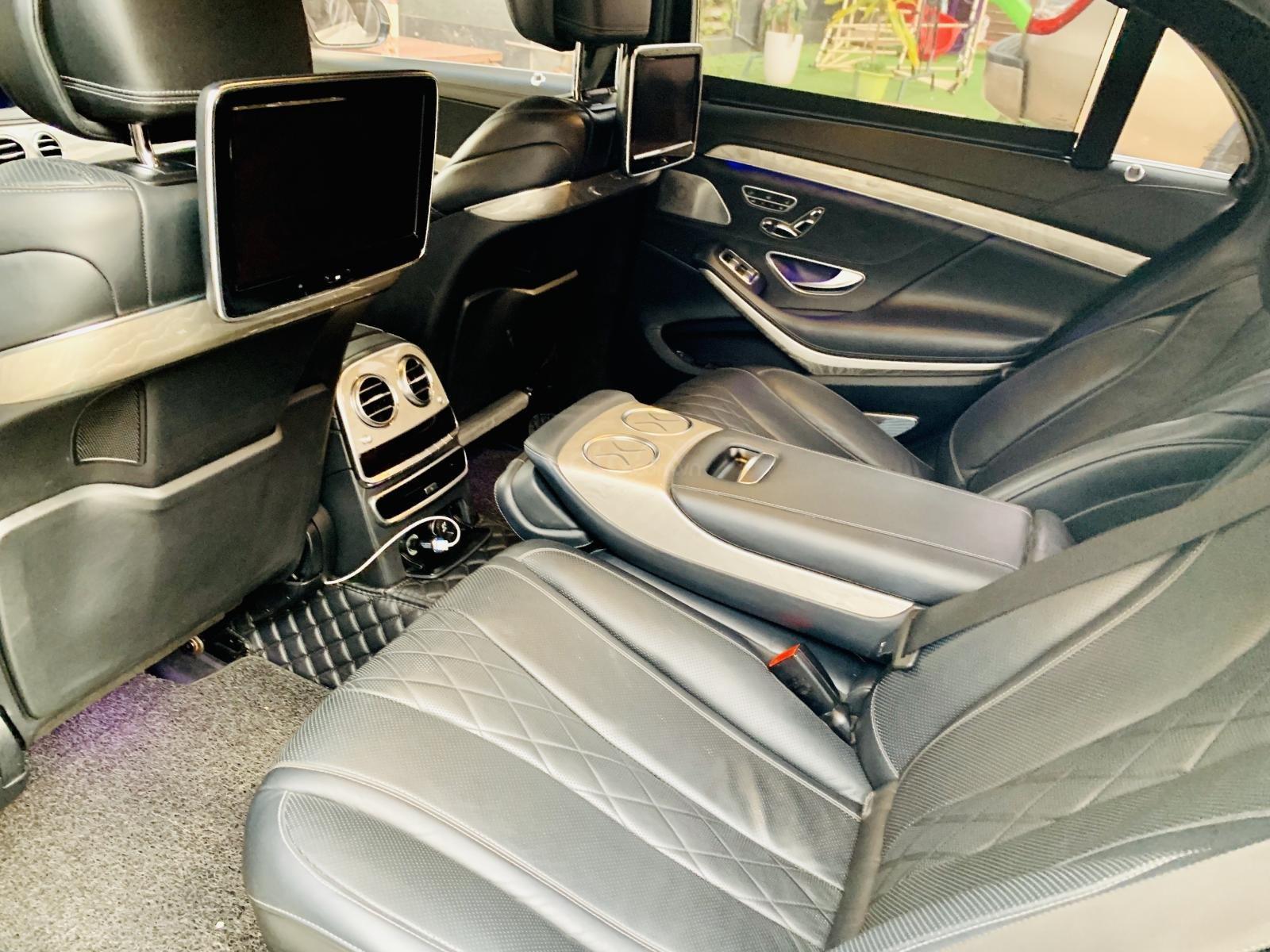 Gia đình thừa xe cần bán Mercedes-Benz S class S500 lên full Maybach 2015 đẹp như mới (7)