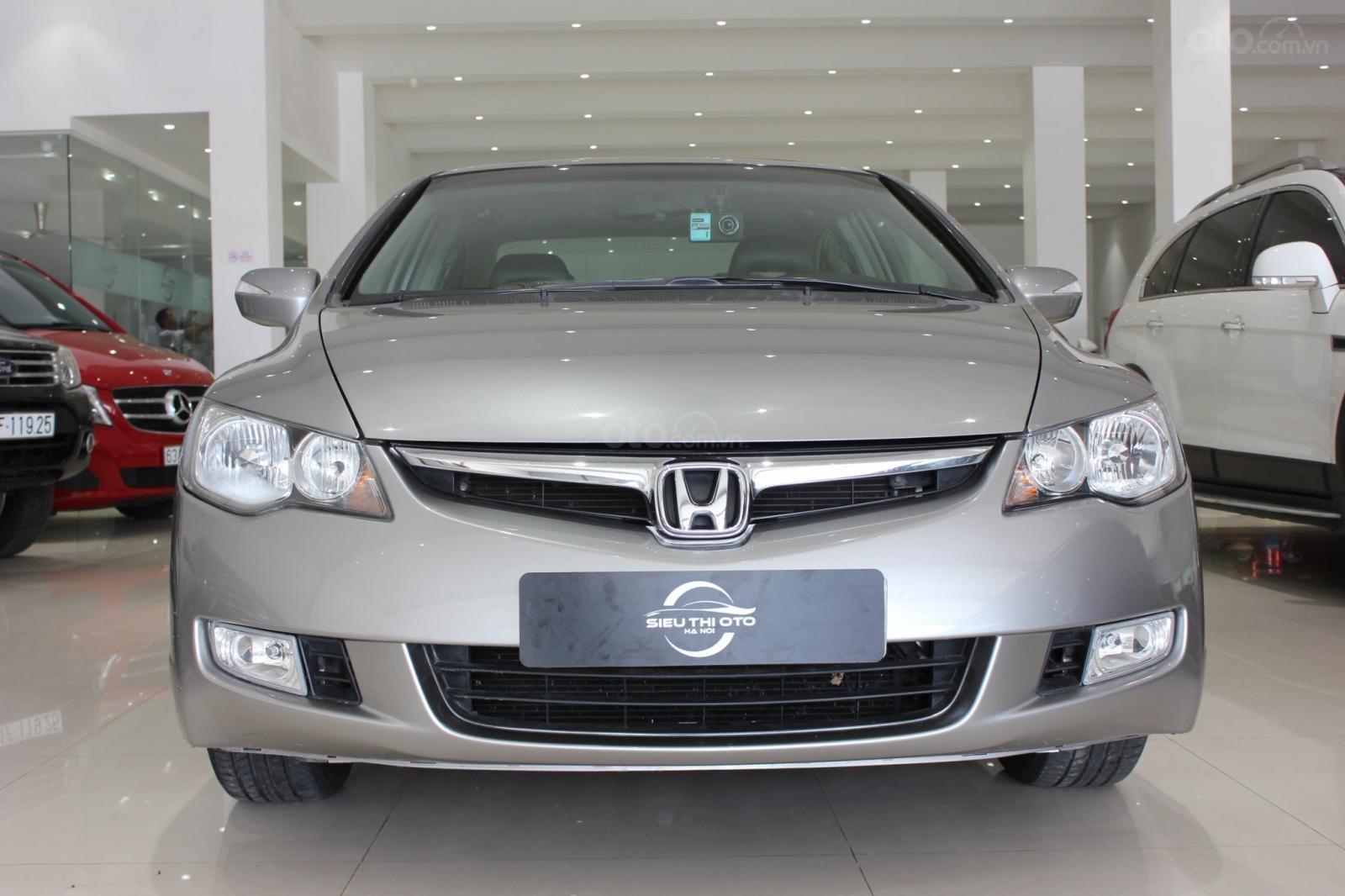 Bán ô tô Honda Civic số tự động, sản xuất 2008, màu bạc, 370 triệu (3)