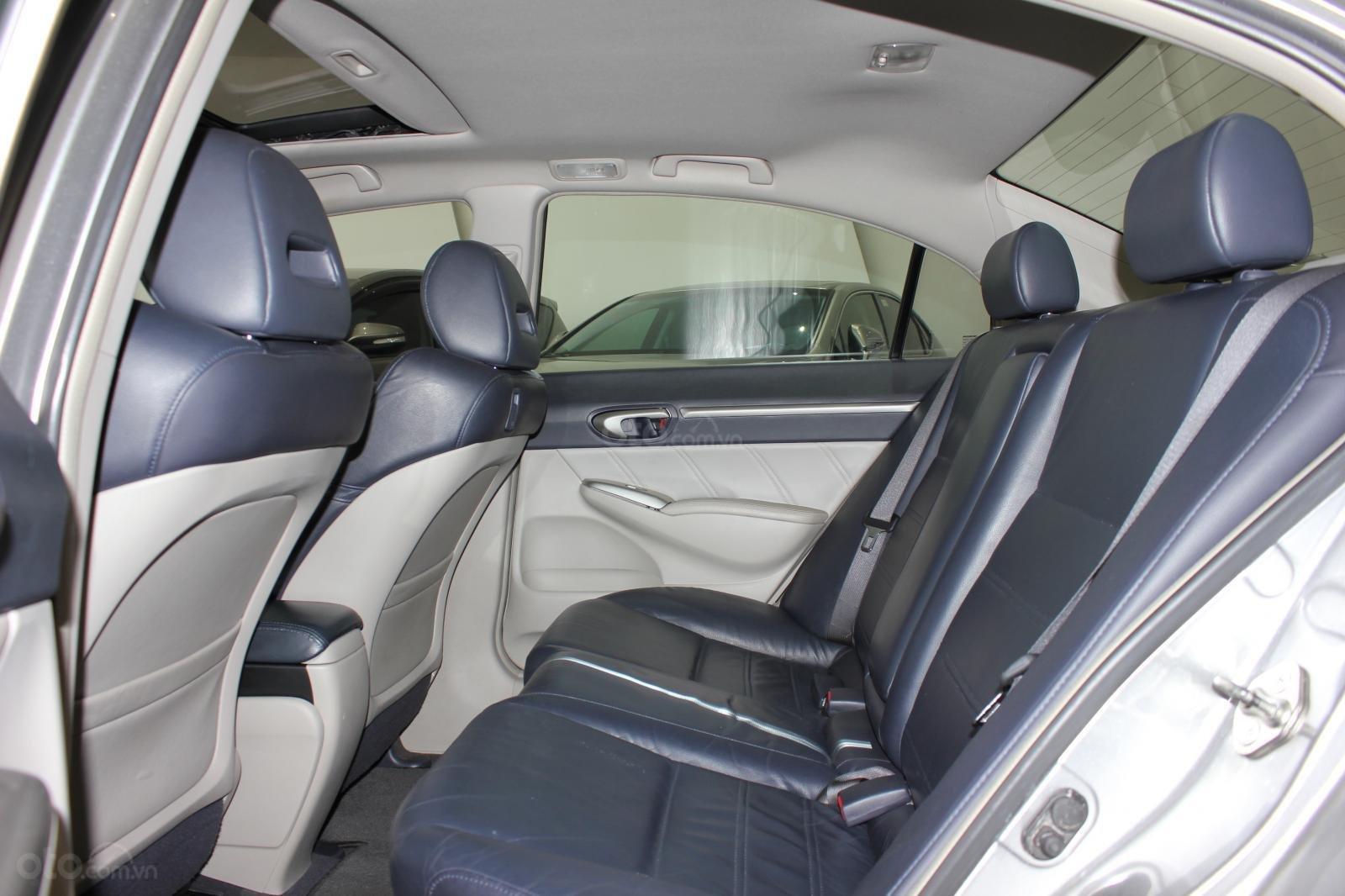 Bán ô tô Honda Civic số tự động, sản xuất 2008, màu bạc, 370 triệu (5)