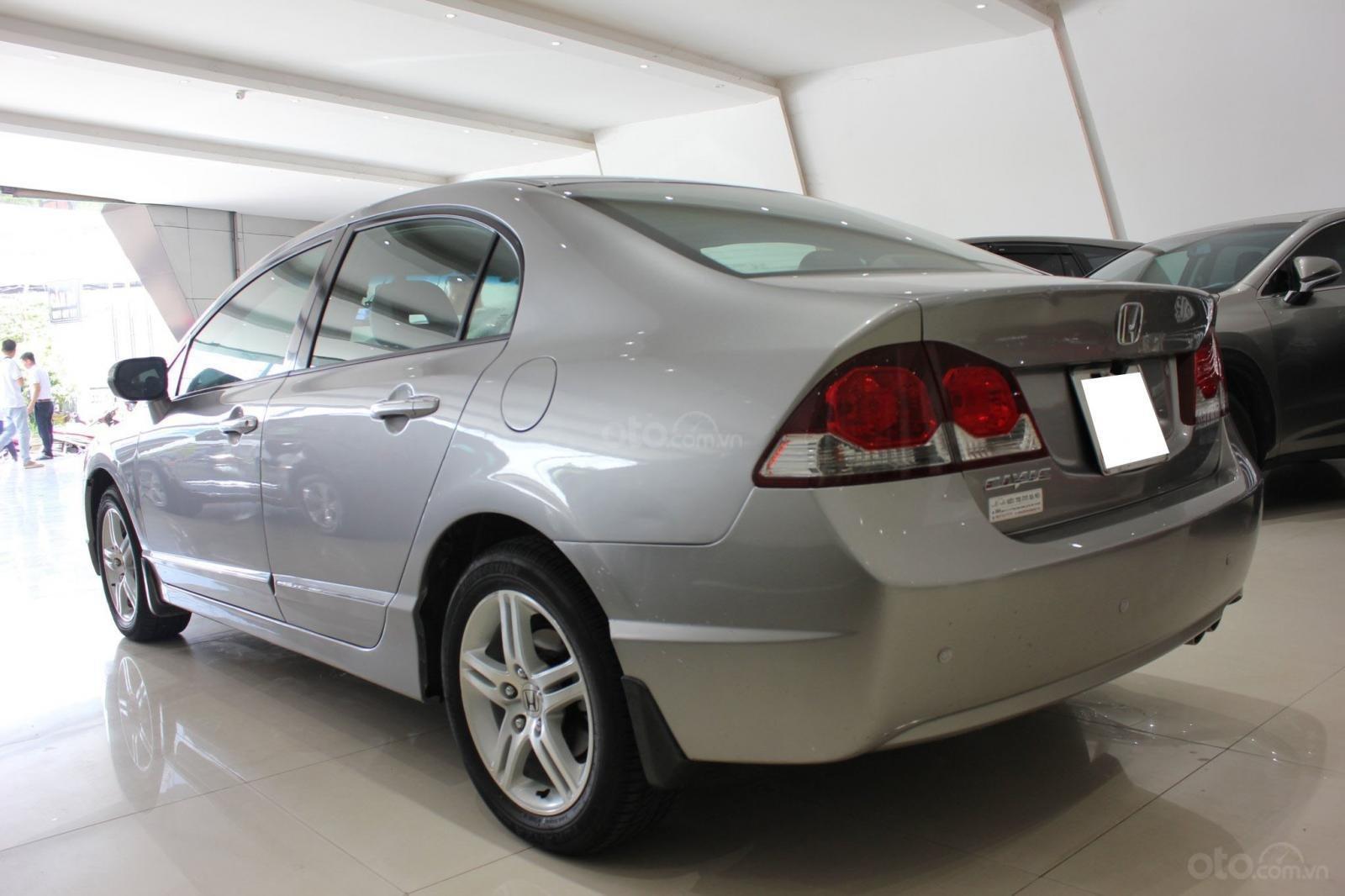 Bán ô tô Honda Civic số tự động, sản xuất 2008, màu bạc, 370 triệu (8)