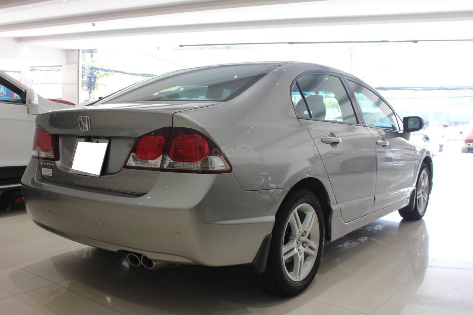 Bán ô tô Honda Civic số tự động, sản xuất 2008, màu bạc, 370 triệu (9)