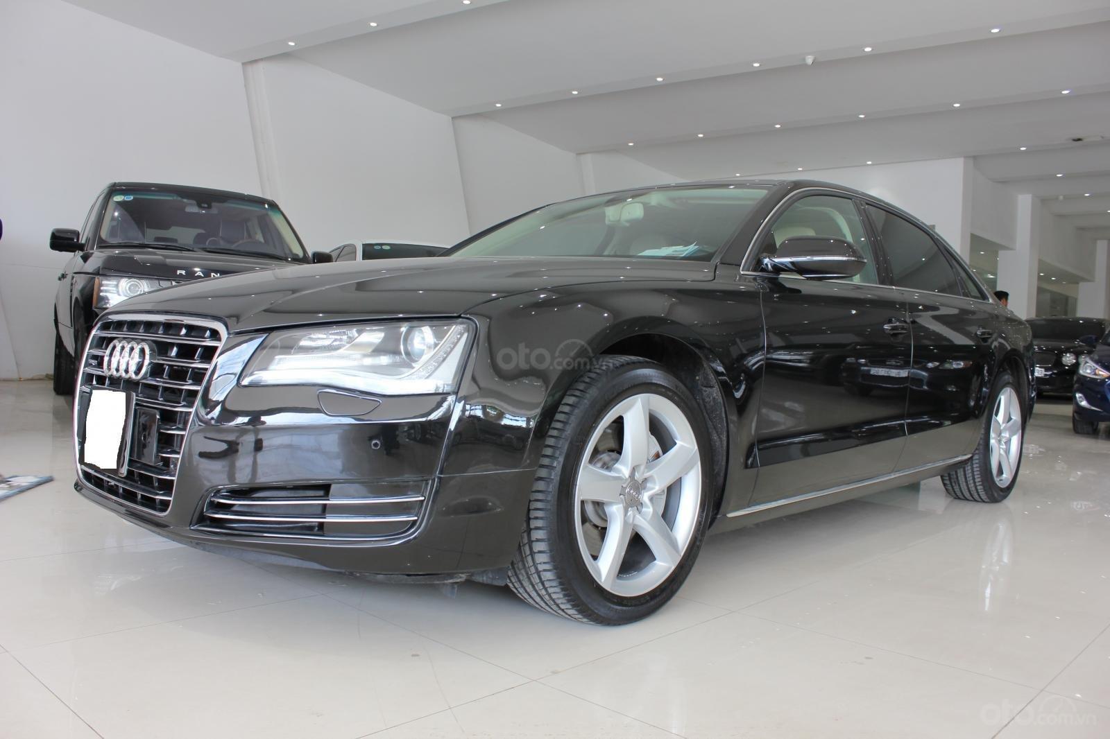 Bán xe Audi A8L date 2011, màu đen, giá 1tỷ 750tr-0