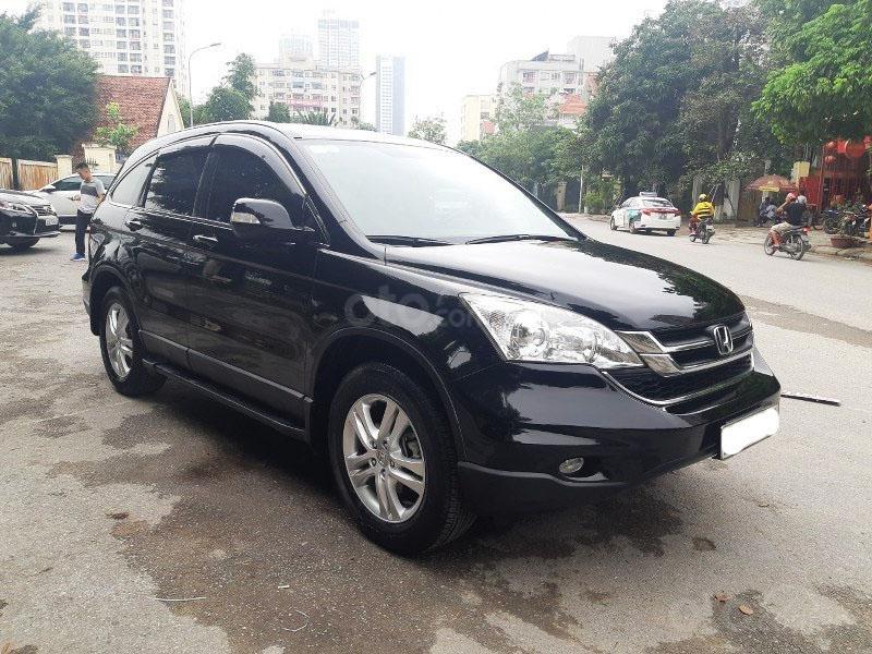 Bán Honda CRV 2.4 sản xuất 2010, màu đen  -3