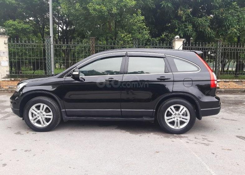 Bán Honda CRV 2.4 sản xuất 2010, màu đen  -1