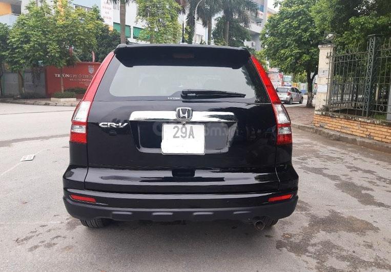 Bán Honda CRV 2.4 sản xuất 2010, màu đen  -4
