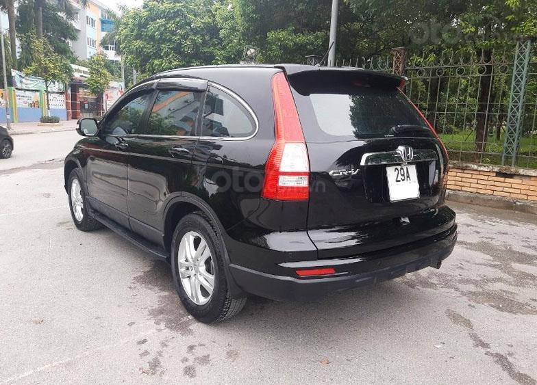 Bán Honda CRV 2.4 sản xuất 2010, màu đen  -5