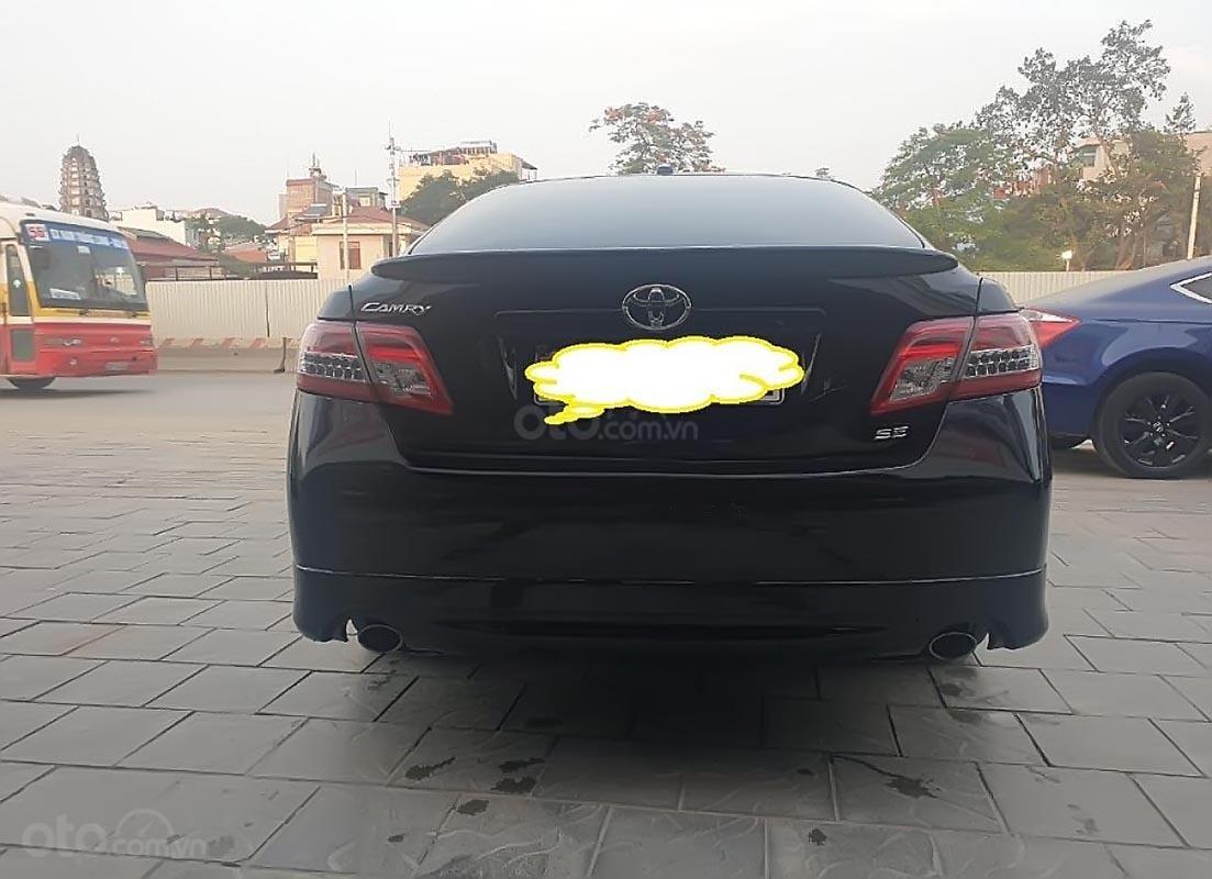 Bán Toyota Camry SE năm sản xuất 2009, màu đen, xe nhập-0