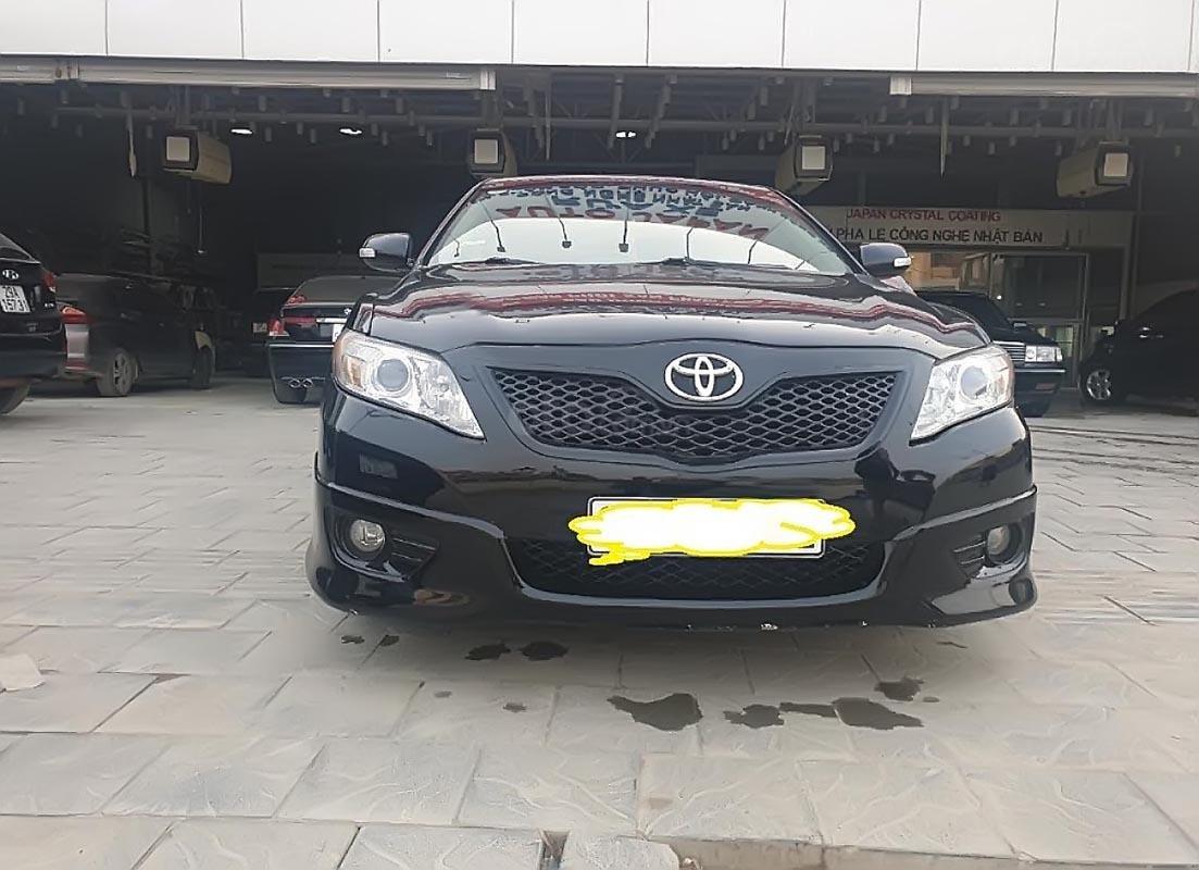 Bán Toyota Camry SE năm sản xuất 2009, màu đen, xe nhập-3
