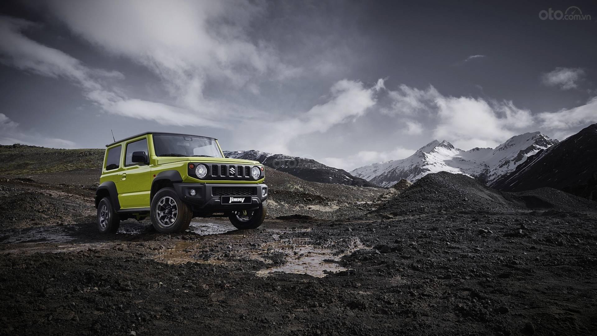 Đánh giá xe Suzuki Jimny 2020 về thiết kế động cơ.