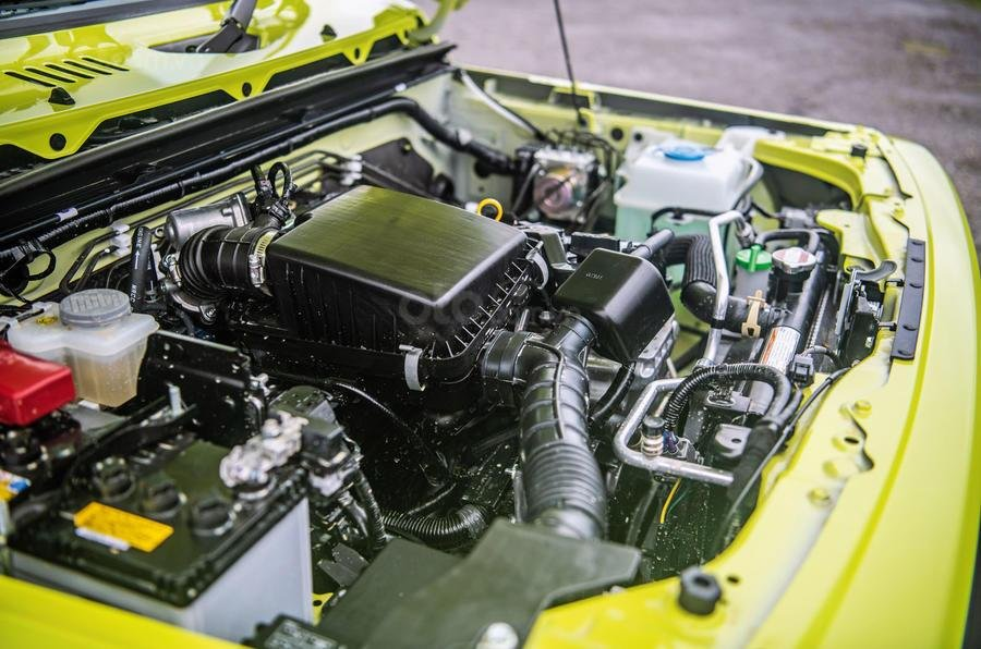 Đánh giá xe Suzuki Jimny 2020 về thiết kế động cơ 1