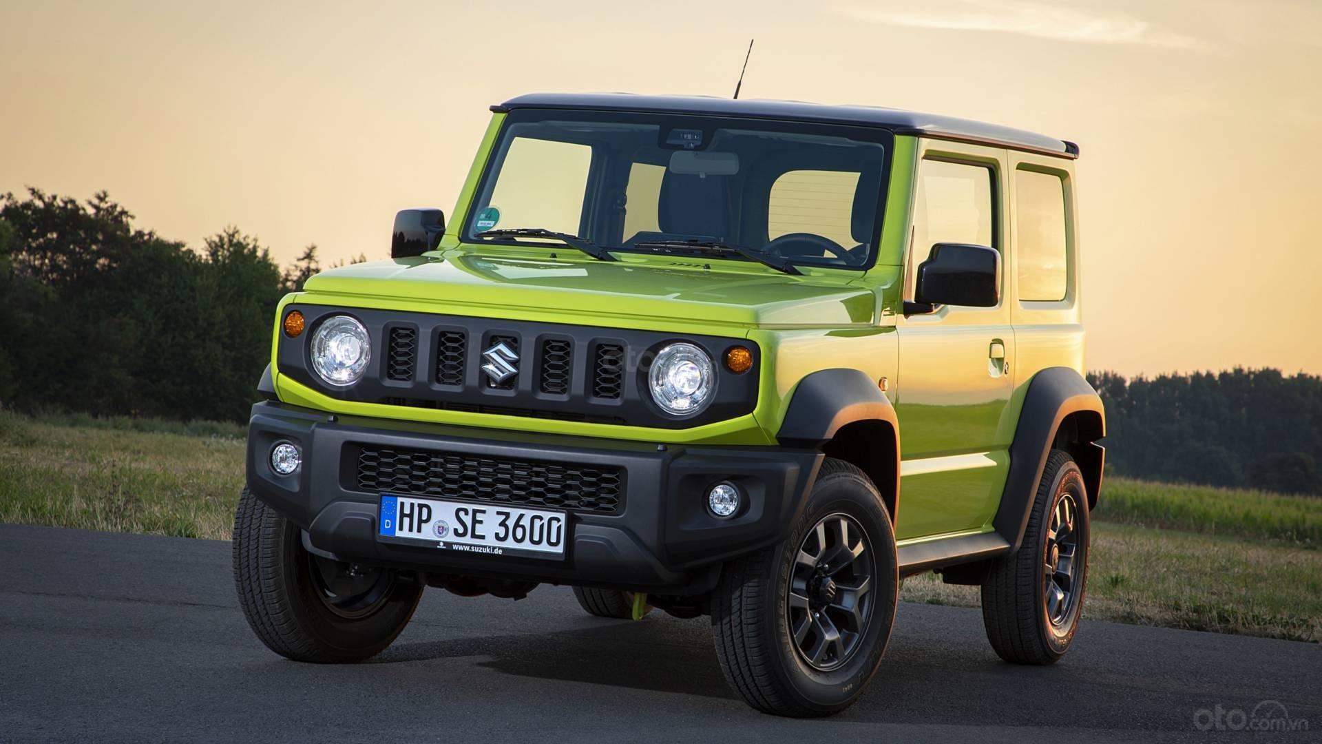Suzuki Jimny 2020: Đầu xe
