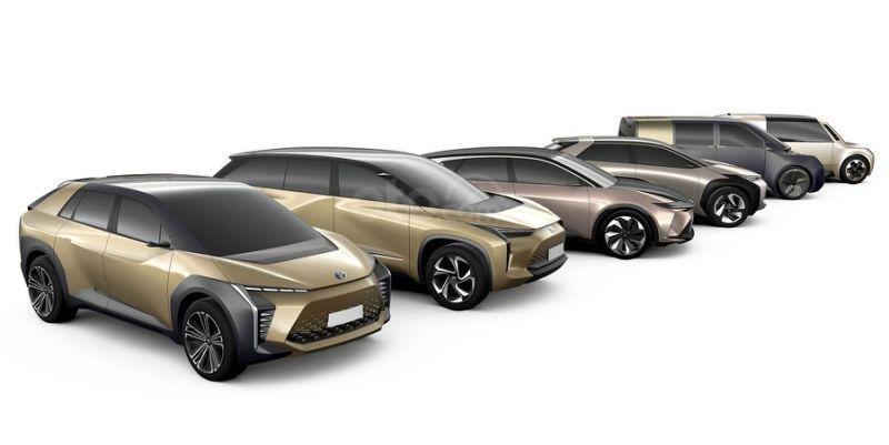 Các mẫu xe điện concept sắp ra mắt của Toyota.