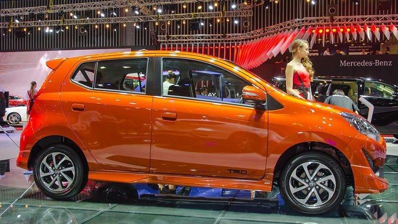 Thiết kế thân xe Toyota Wigo 2019...