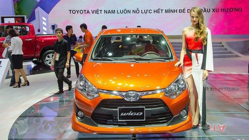 Đầu xe Toyota Wigo 2019...
