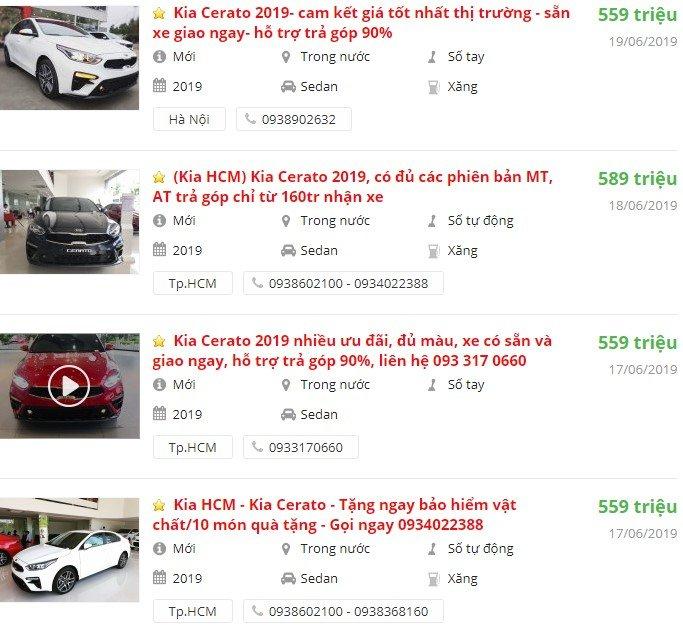 Kia Cerato 2019 có khuyến mại gì tháng 6 không? a1