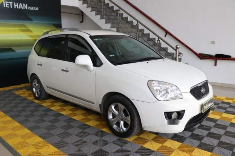 Bán ô tô Kia Carens EX 2.0MT sản xuất 2016, màu trắng (2)