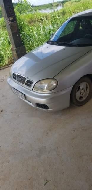 Cần bán xe Daewoo Lanos sản xuất 2002, màu bạc (2)