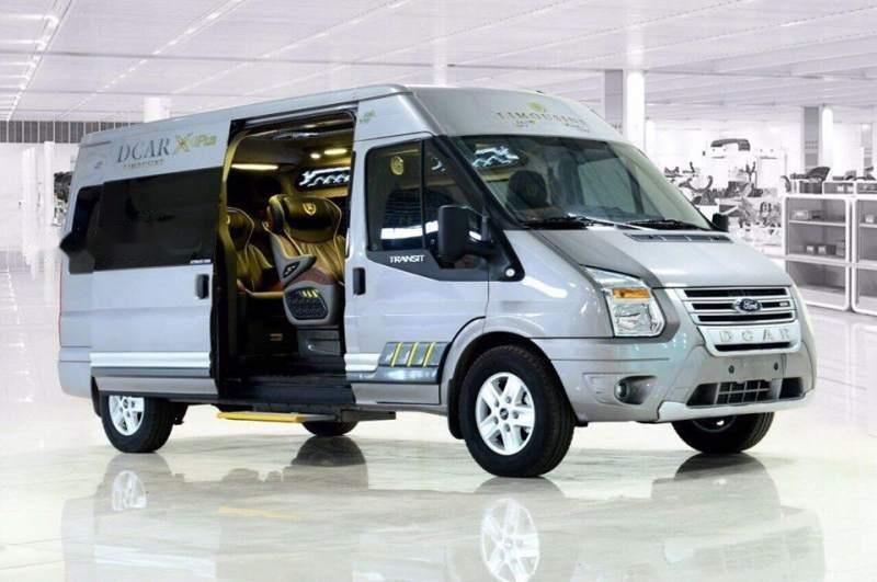 Bán Ford Transit Dcar X Plus 2019, màu bạc, mới 100% (1)