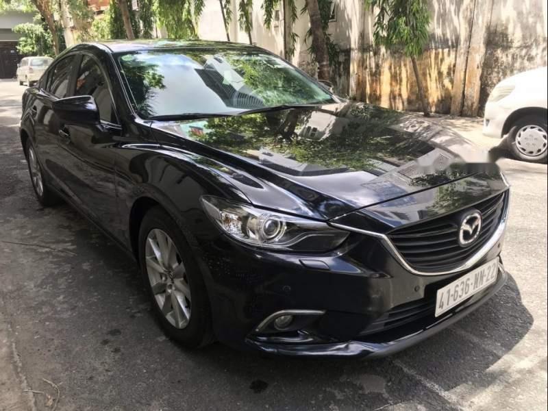 Cần bán Mazda 6 năm 2015, màu đen, đi đúng đồng hồ 35000 km (5)