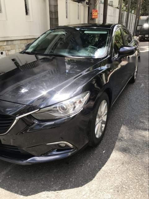 Cần bán Mazda 6 năm 2015, màu đen, đi đúng đồng hồ 35000 km (3)