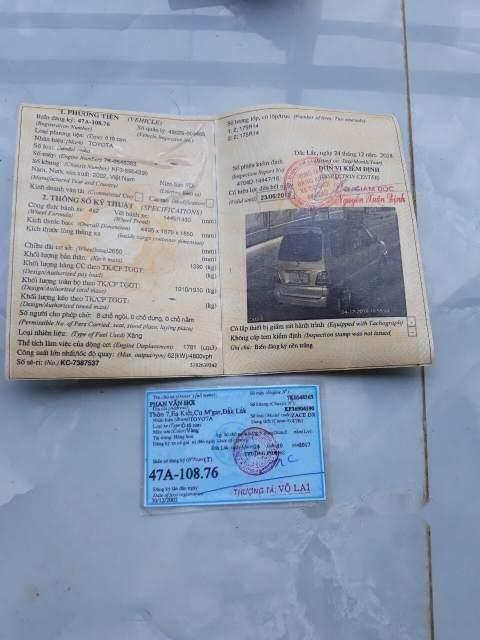 Bán xe Toyota Zace đời 2002, xe nhập, gia đình đi nên rất cẩn thận (6)