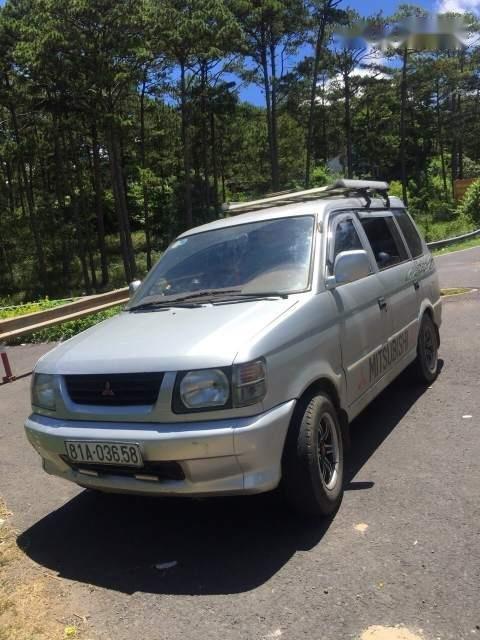 Cần bán Mitsubishi Jolie đời 2001, màu bạc, xe đẹp, máy êm (1)