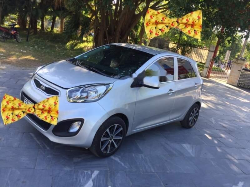 Cần bán xe Kia Morning sản xuất năm 2013, màu bạc số sàn, 210tr (2)