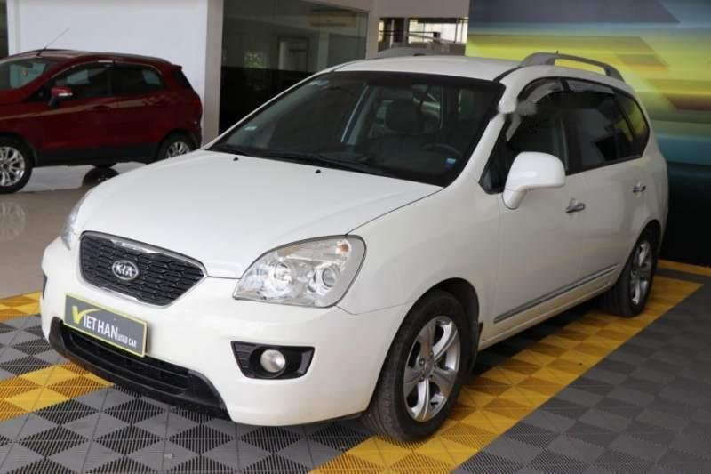 Bán ô tô Kia Carens EX 2.0MT sản xuất 2016, màu trắng (1)