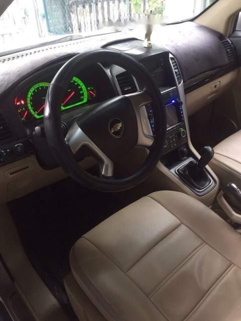 Cần bán lại xe Chevrolet Captiva sản xuất 2007, màu bạc, xe zin nguyên rất đẹp (3)