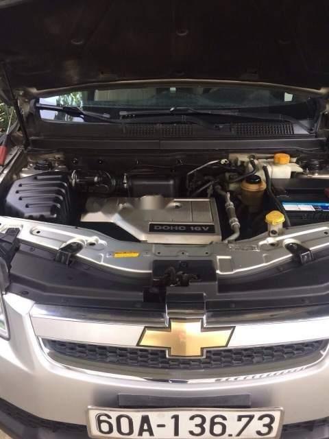 Cần bán lại xe Chevrolet Captiva sản xuất 2007, màu bạc, xe zin nguyên rất đẹp (2)
