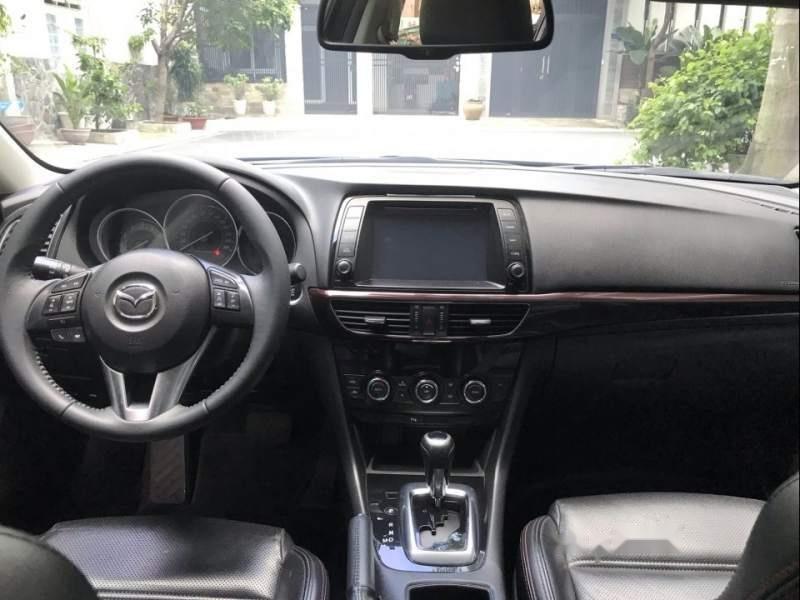 Cần bán Mazda 6 năm 2015, màu đen, đi đúng đồng hồ 35000 km (6)