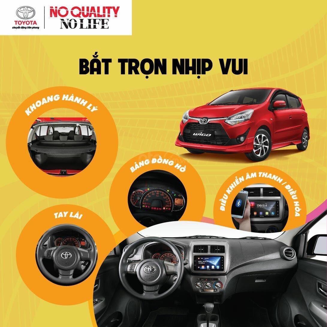 Toyota Wigo năm 2019, nhập khẩu Indonesia, giá tốt, liên hệ ngay 0907044926 để được hỗ trợ tốt nhất (6)