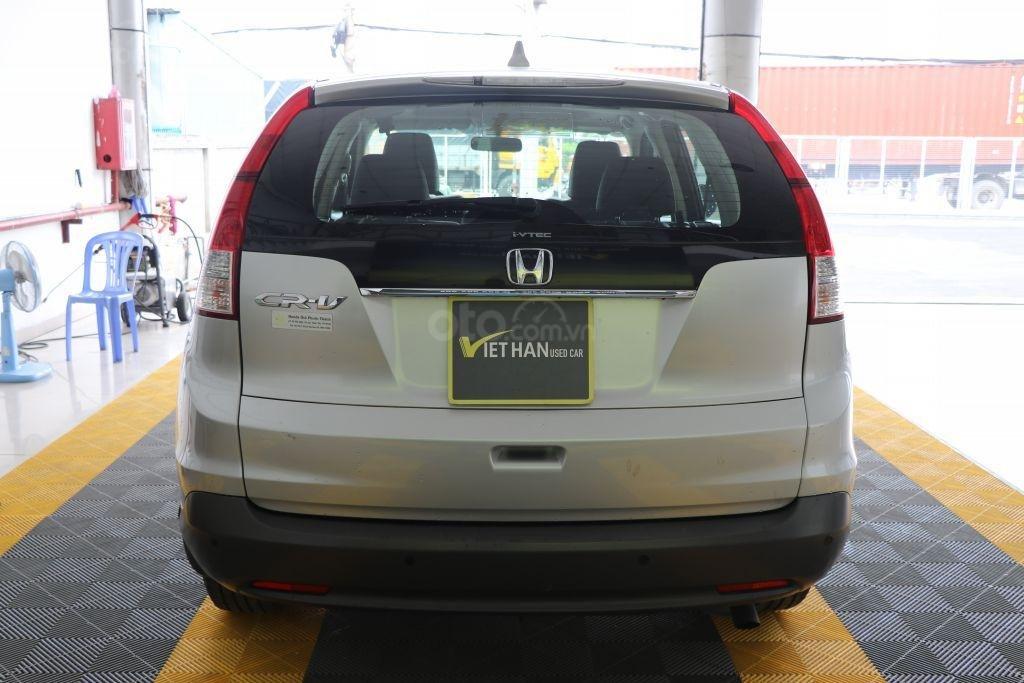 Cần bán Honda CR V 2.4AT năm 2014, màu bạc-4