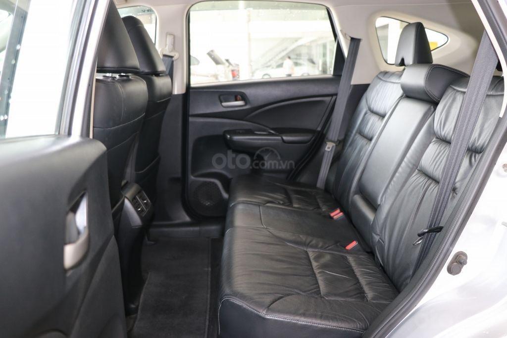 Cần bán Honda CR V 2.4AT năm 2014, màu bạc-7