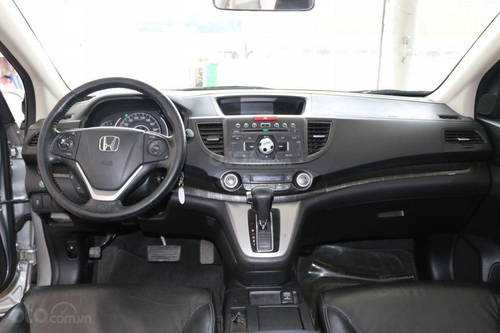 Cần bán Honda CR V 2.4AT năm 2014, màu bạc-8