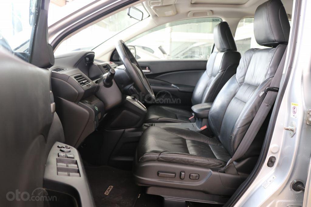 Cần bán Honda CR V 2.4AT năm 2014, màu bạc-6