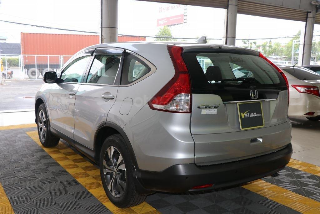 Cần bán Honda CR V 2.4AT năm 2014, màu bạc-5