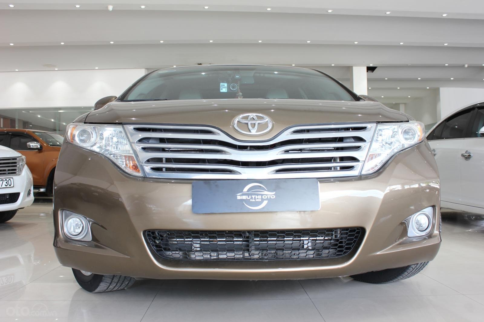 Bán ô tô Toyota Venza năm sản xuất 2011, màu nâu, nhập khẩu -3